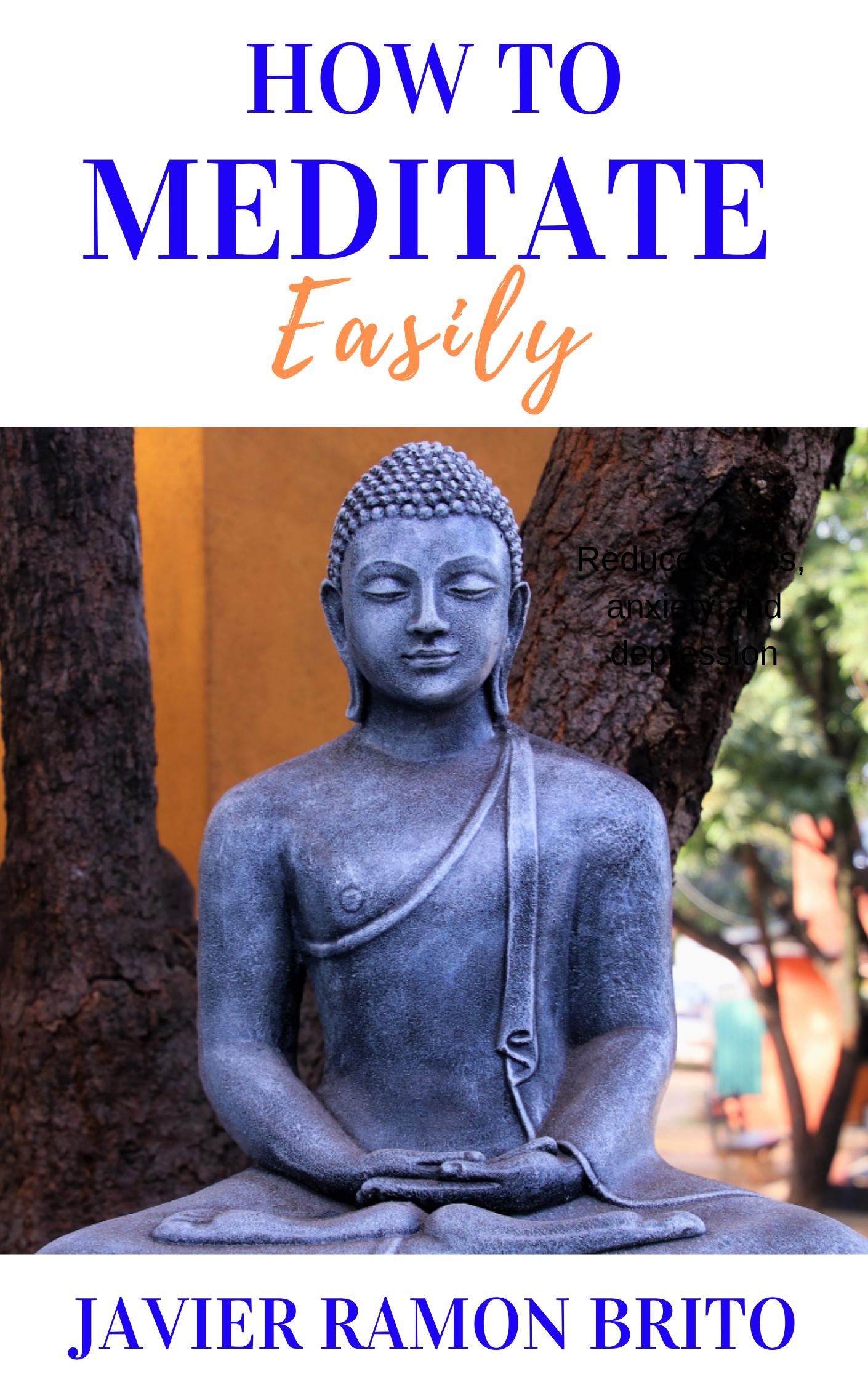 meditate, meditation, meditate easily, meditation book, guide to meditation, meditation techniques, download meditation guide