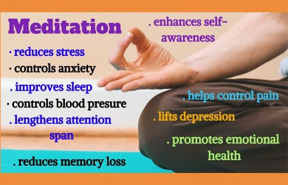 benefits of meditation, meditation class, meditation class online